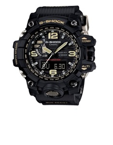 Casio G-Shock Mudmaster Triple Sensor Men'S Resin Analog Gwg1000
