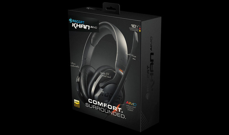 ROCCAT Khan AIMO Black 7