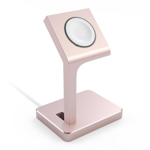 Satechi Aluminum Watch Stand Rose Gold