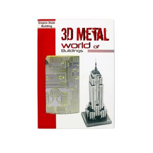 Promotional 3D Metal World Empire State Building Puzzle
