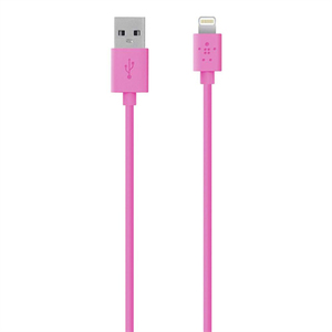 Belkin Sync/Charge Lightning Cable Pink
