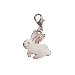 White Rabbit Charm
