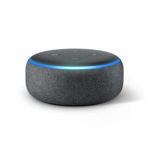 Amazon Echo Dot 3Rd Gen Sandstone Charocal