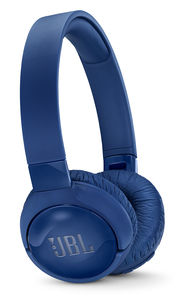 JBL T600BT Noise-Caneclling Wireless Bluetooth Blue On Ear Headphones