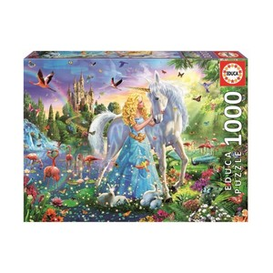 1000 The Princess And The Unicorn Puzzle
