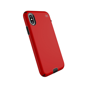 Speck Presidio Sport Case Heartrate Red/Sidewalk Grey/Black for iPhone XS